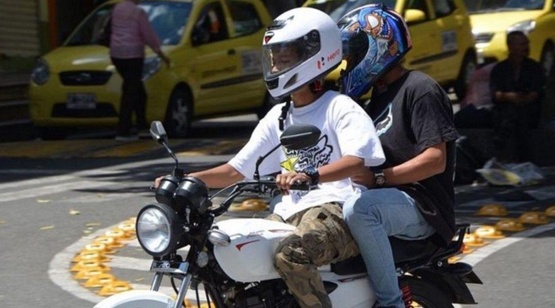 Capturados atracadores en moto en vía a Catama